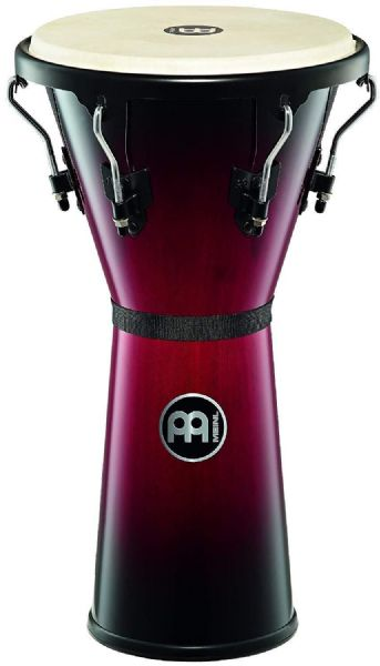 Meinl Percussion 12 1/2 inch Headliner Series Wood Djembe - Wine Red - HDJ500WRB